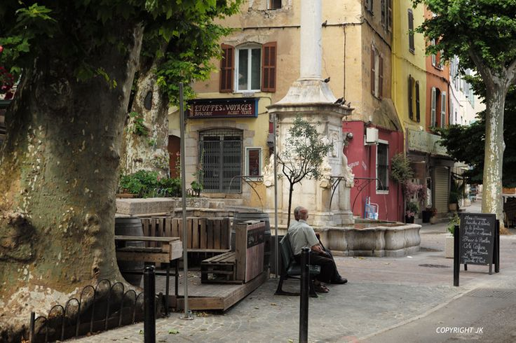 La vieille ville de Lorgues en Provence