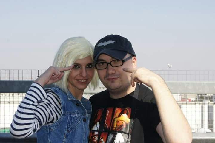 Vi teniamo d'occhio #frank #penna #frankmania #frankpenna83 #cosplay #dragonball #cartoomics #cyborg #pinterest #girl #cosplayer #comics #top