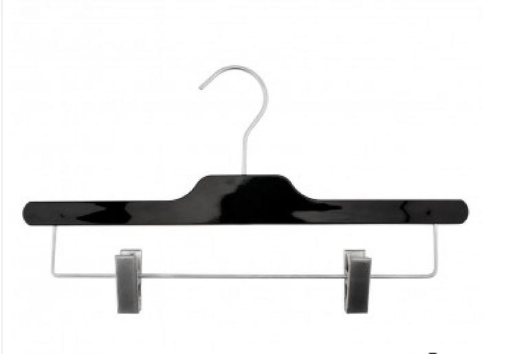 Acrylic Skirt Hanger / Black