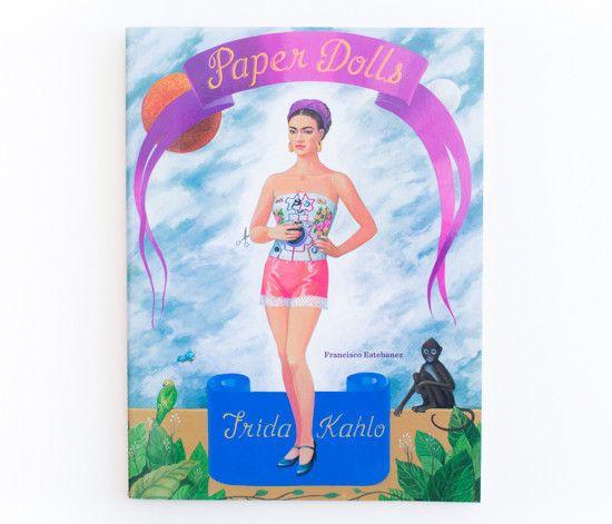Frida Kahlo Paper Dolls