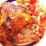 Recetas light fáciles: Pollo asado al limón