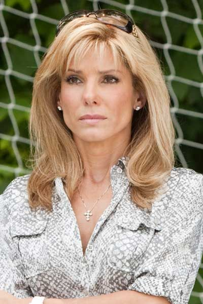 Sandra Bullock The blind side--by far my favorite roll she's ever played! i wanna be her character :D