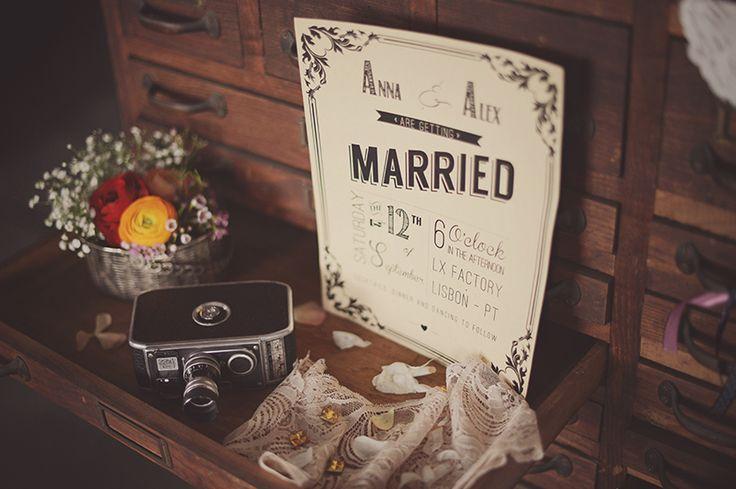 ALTERNATIVE STYLED PHOTOSHOOT - VINTAGE WEDDING INVITATIONS