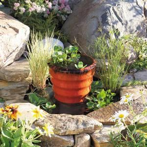 DIY garden fountain DIY Build a Pond Fountain in One Day