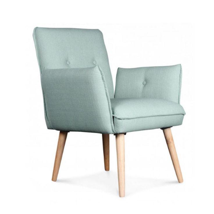 Invitez la légèreté et la simplicité du design scandinave dans votre séjour grâce au fauteuil ISAC. Le fauteuil assure une touche de fraîcheur et de couleur dans votre intérieur. Idéal si vous recherchiez une petite touche déco colorée.