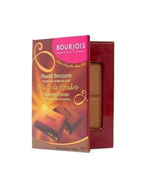 Bourjois Bronzing Powder - This is a fab bronzer and it looks and smells like chocolate! What's not to like?