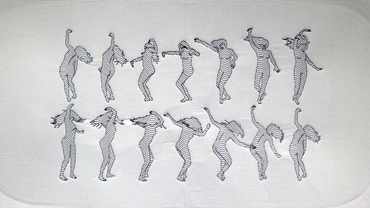 Stitch Me Closer Tiny Dancer Flip Book Animation Frame By Frame Animation Animation Reference