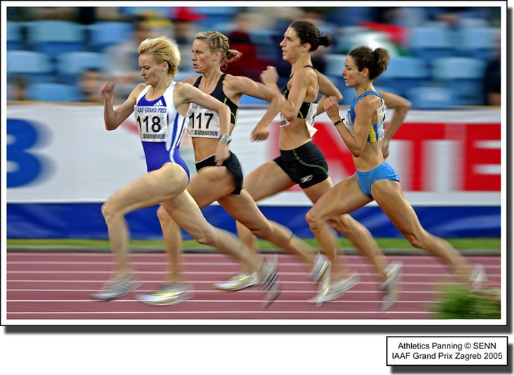 Panning athletics, ...: Photo by Photographer Damir Sencar