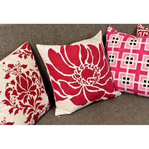 Throw Pillow Kit : 17 Best images about Anemone Blossom Paint-a-Pillow Kit on Pinterest Paint, Stenciling and ...