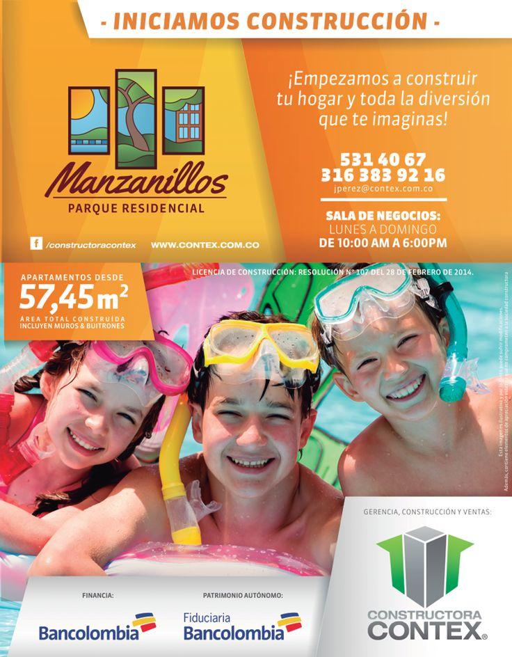 MANZANILLOS - INICIAMOS CONSTRUCCIÓN.