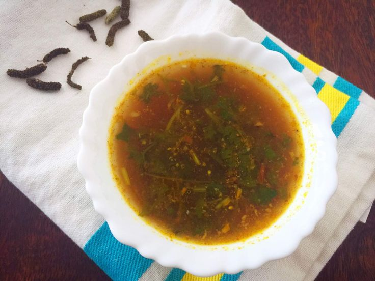 Kandathippili Rasam Recipe (Long Pepper Rasam)