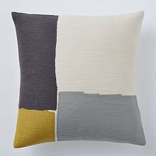 Steven Alan Abstract Crewel Pillow Cover - Horseradish