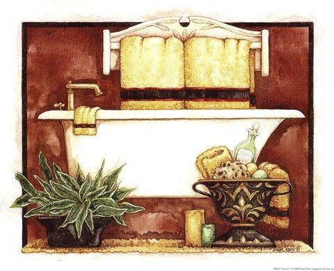 Sienna I Diane Knott S Bathroom Images Pintura Country