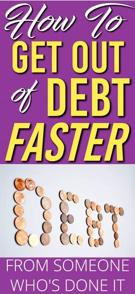 How to Get Out Of Debt Fast – The Ultimate Guide To Getting Rid of Your Debt