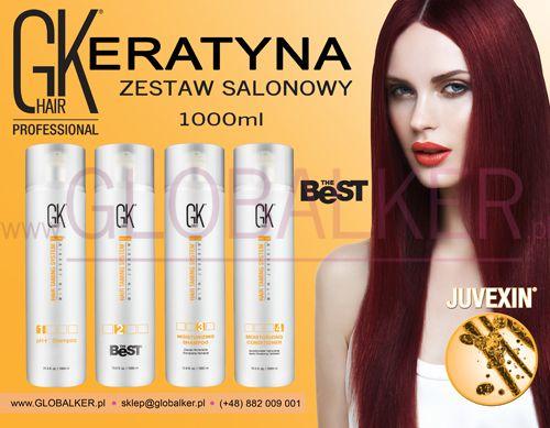 Keratyna do włosów zestaw salonowy GK Hair The Best 1000ml Global Keratin Juvexin Warszawa Sklep #no.1 #globalker http://globalker.pl/keratyna-do-zabiegow/837-GK-HAIR-ZESTAW-KERATYNA-THE-BEST-1000ml-GLOBAL-KERATIN.html