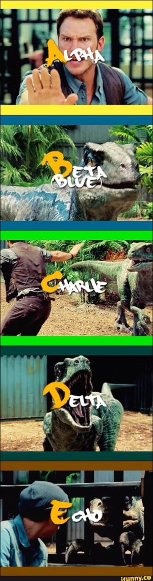 The Raptors❤️ Jurassic World