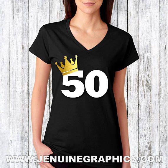 50th birthday  fiftieth birthday shirt  adult birthday shirt