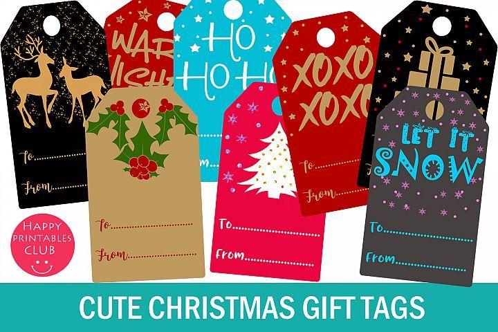 Christmas Gift Tags Printable Christmas Gift Tags Gift Tag 366602 Illustrations Design Bundles Christmas Gift Tags Printable Gift Tags Printable Christmas Gift Tags