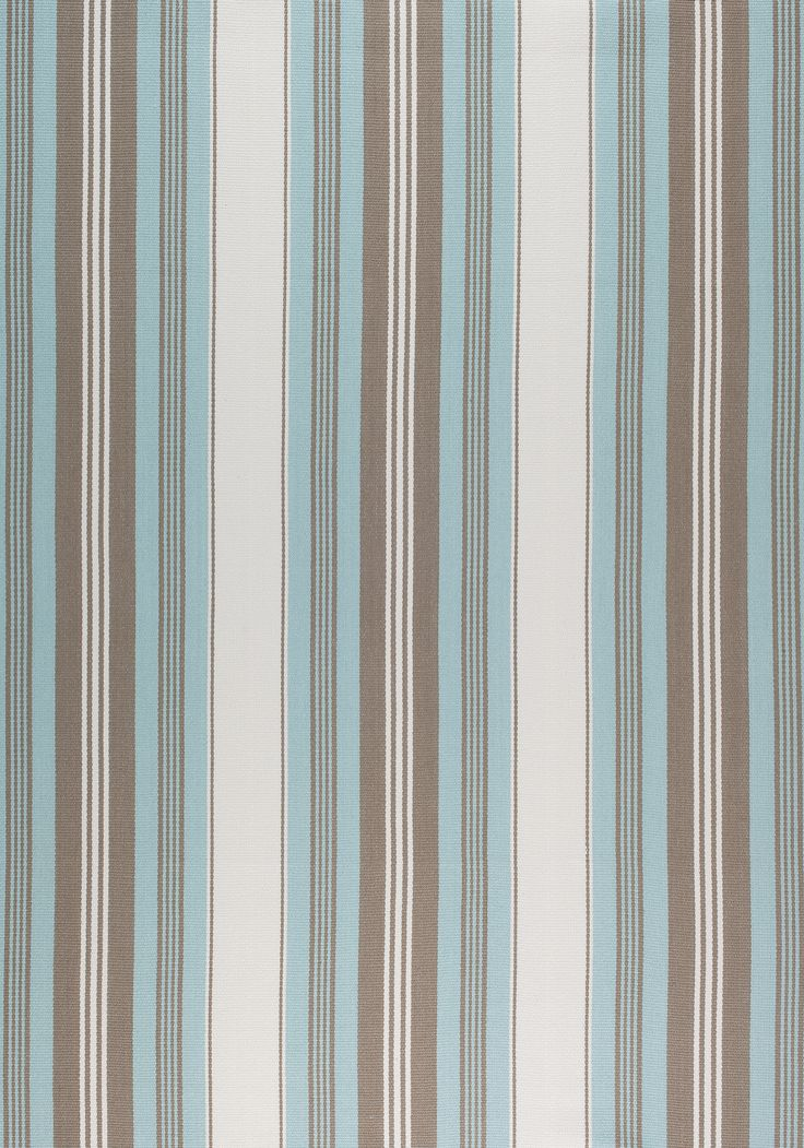 SHERIDAN STRIPE, Aqua, W80073, Collection Woven 9: Plaids & Stripes from Thibaut