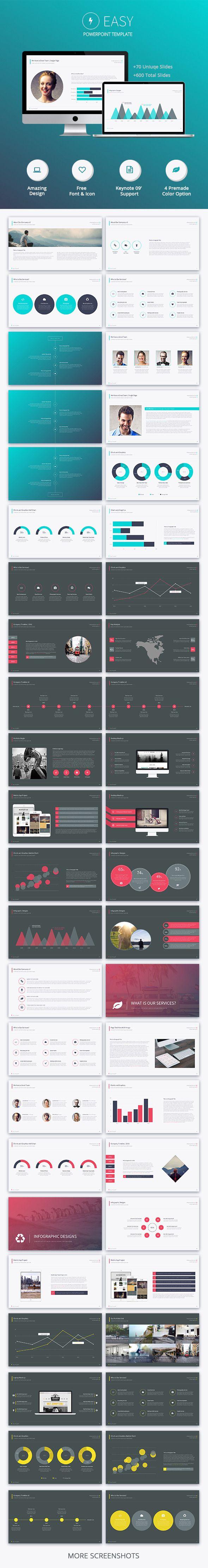 Easy Powerpoint Template #design #slides Download: http://graphicriver.net/item/easy-powerpoint-template/12749854?ref=ksioks