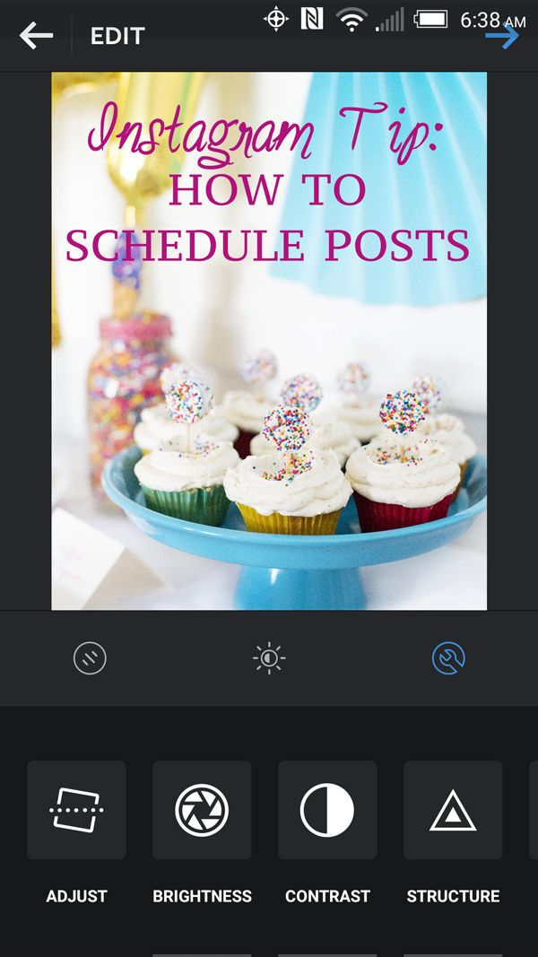 Genius Tip For Instagram - how to schedule posts in advance. Why didn't I think of this!?