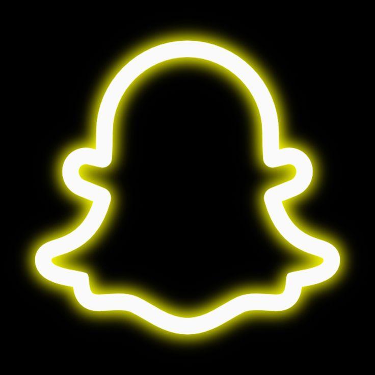 Snapchat neon icon | Wallpaper iphone neon, Iphone ...
