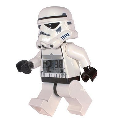 Lego Star Wars Stormtrooper alarm clock 10133235 96 Advantage card points. With LEGOs Star Wars Stormtrooper clock you can have a menacing Stormtrooper keeping watch while you sleep. Then he will drag you from your slumbers in the morning. FREE Deli http://www.MightGet.com/april-2017-1/lego-star-wars-stormtrooper-alarm-clock-10133235.asp