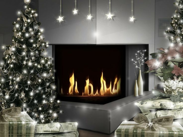 Christmas Fireplaces Pictures 84 Best Christmas Fireplaces & Mantles Images On Pinterest