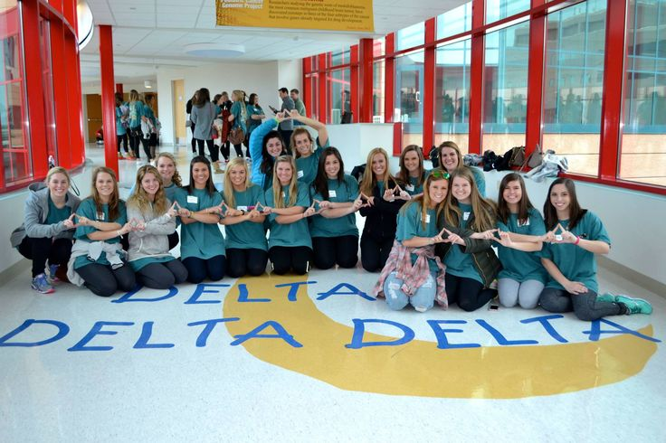 Chapters love to visit St. Jude and explore everything Tri Delta does for the patients.