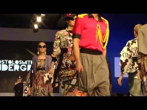 Underground & Apostolos Mitropoulos for Underground s/s14 Fashion Show at 14th AXDW (VIDEO)