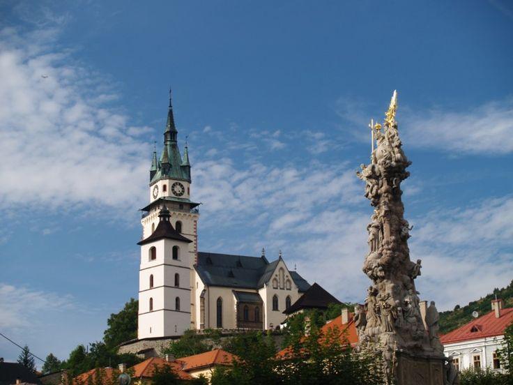 Körmöcbánya, Felvidék, ma Szlovákia területén.