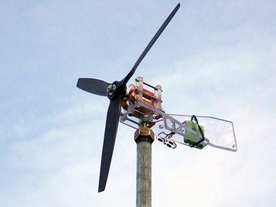 """12"""" Mini turbine or DIY Wind Energy"""