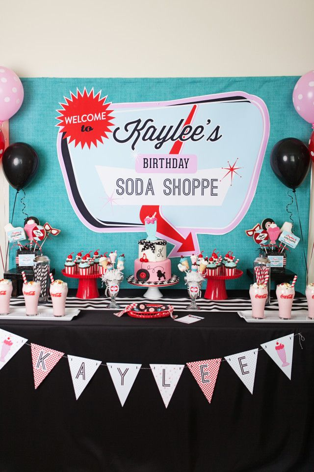 25 best ideas about 1950s party on pinterest retro for 50 s party decoration