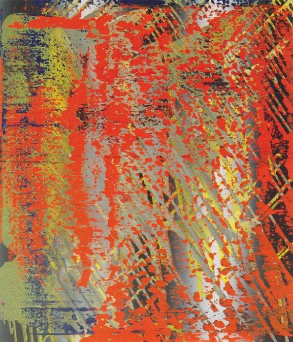 Abstract Painting [682-4] » Art » Gerhard Richter