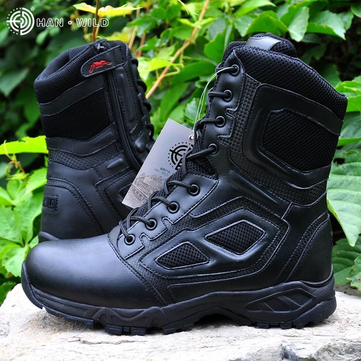 Askeri taktik savaş açık spor ordu erkekler çizmeler çöl botas yürüyüş sonbahar shoes seyahat deri yüksek çizmeler erkek