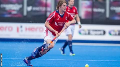 Hockey: Great Britain beat Netherlands 3-0 as Ashley Jackson earns 100th cap - BBC Sport