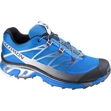 Chaussures Salomon XT Wings 3 ...  maintenant à mes pieds, pleines de boue