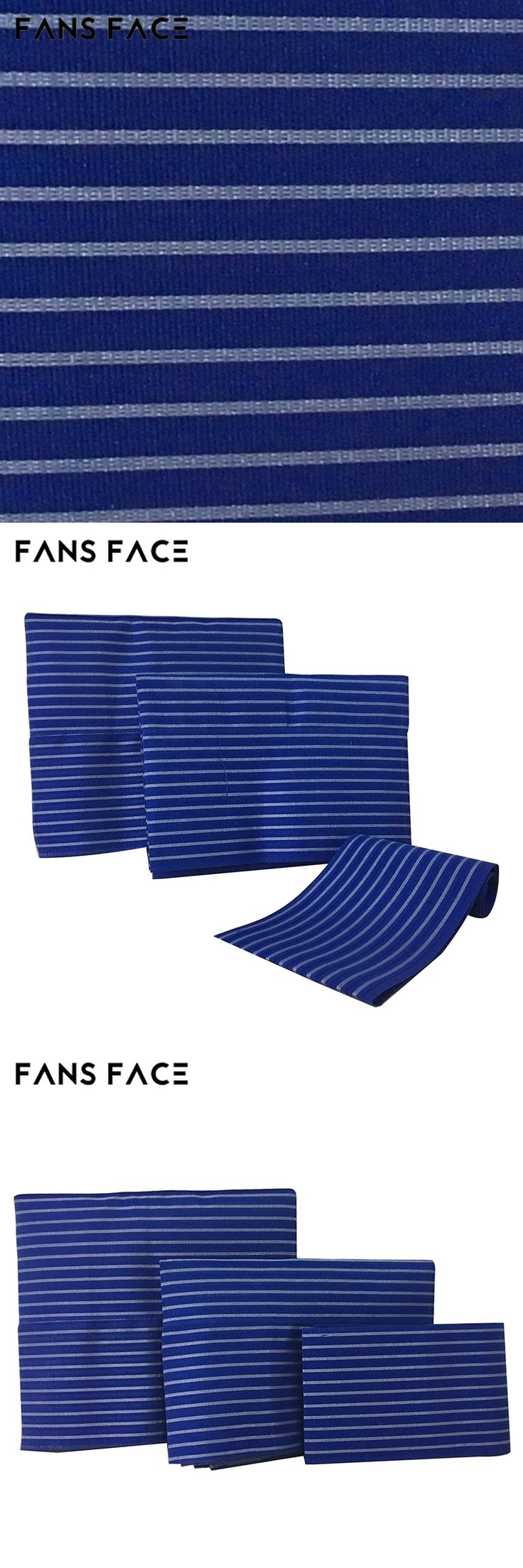 FANS FACE African Blue Headtie Nigeria Aso Oke Designs Headtie For Wedding Headwear For Women Noble Traditional African Clothing