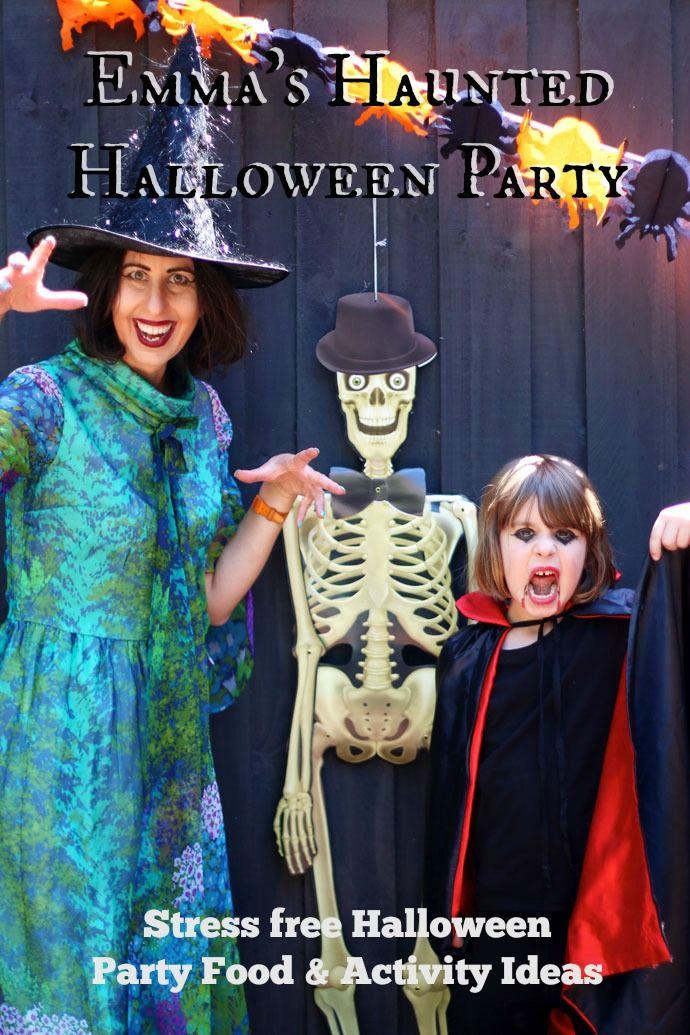 emmas haunted halloween party stress free halloween party food activity ideas - Free Halloween Costume