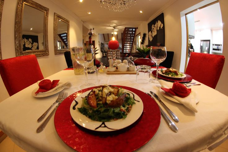 The owner and staff at Casa Di Cattleya take pride in their creative & delicious meals