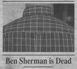 У нас осталось очень мало вещей от Британского бренда Ben Sherman, Интересные модели курток, джемперов и рубашек в очень маленьком количестве мы распродаем с 50% скидкой!  👉http://street-story.ru/catalog/ben_sherman.html  Arthur Benjamin Sugarman родился в 1925 году в Брайтоне, Великобритания (Brighton, UK), а в 1946 году эмигрировал в Соединенные Штаты через Канаду. Он изменил национальную принадлежность, став натурализованным американцем, и имя на более звучное. Бен женился на дочери…