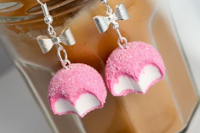 Boucles d'oreilles bonbons