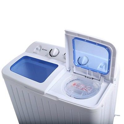 Apartment Washer and Dryer Portable Compact Twin Tub Machine Washing Cleaner