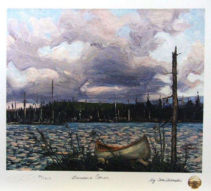 Tom Thomson 's Canoe