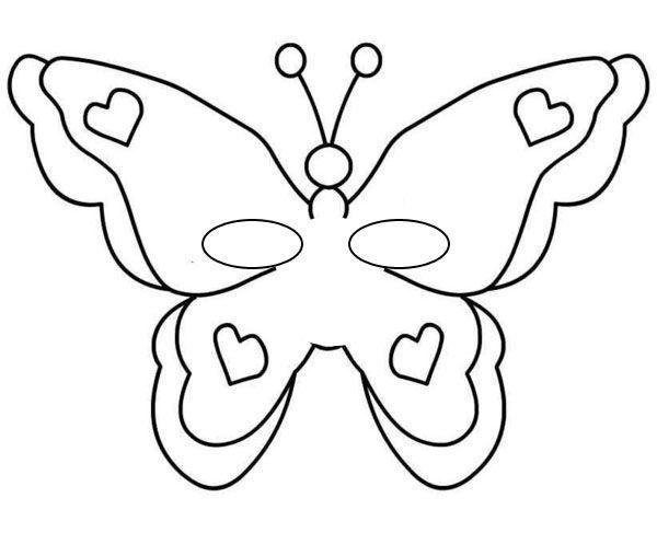 Kelebek Kaliplari Boyama Boyama Sayfalari Kelebekler Nakis