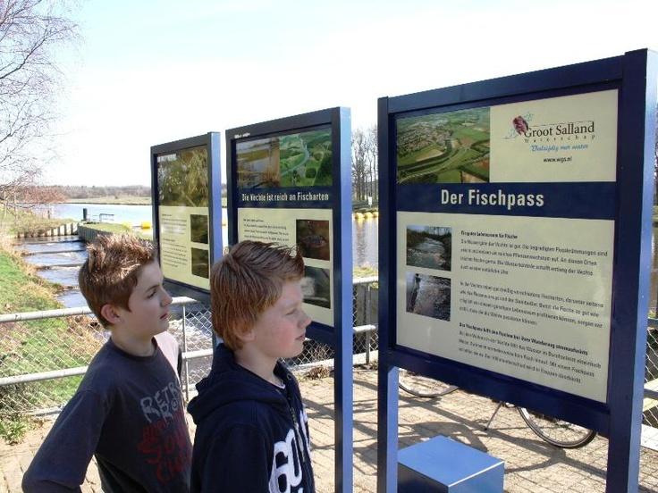 PAM - infoborden bij stuw Vilsteren