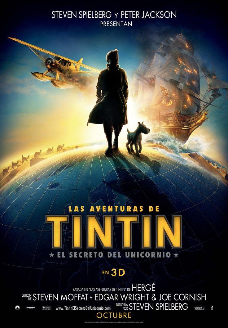 2011. Las aventuras de Tintín El secreto del unicornio - The adventures of Tintin The secret of the Unicorn