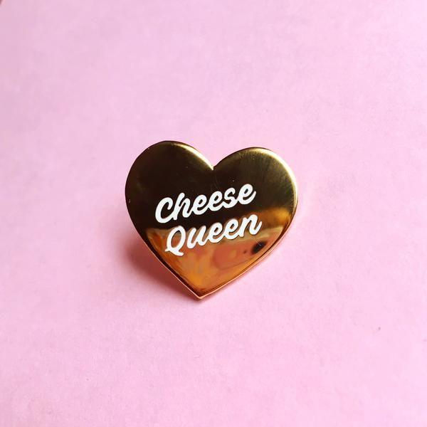 Cheese Queen Heart Pin – shop.luella