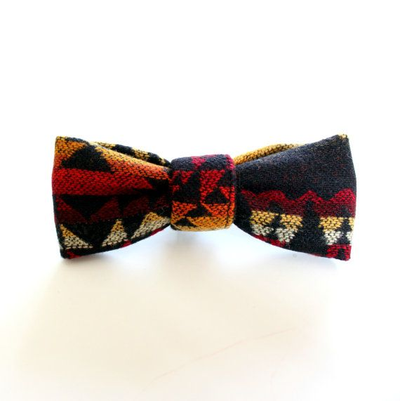 Pendleton Wool Bow Tie for Toddlers and Babies by rainorshineshop, $14.00