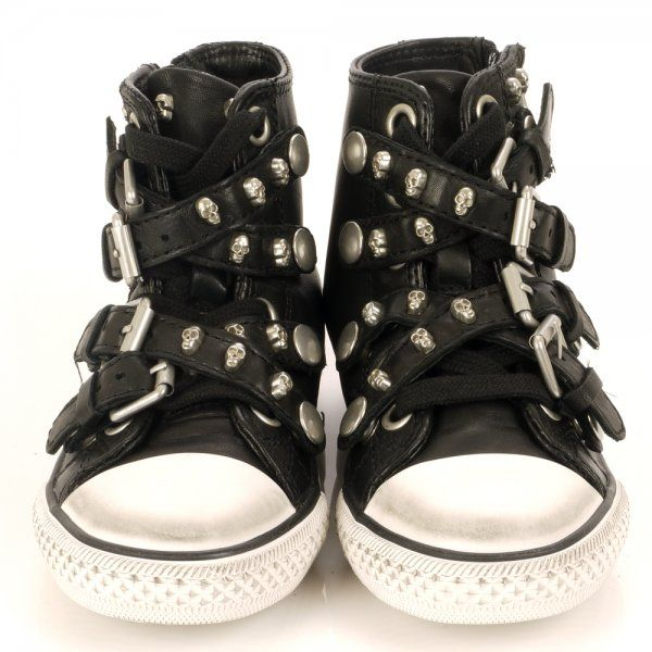 Want these for my granddaughter!!!! chic skull top | Excelelnt ASH Kids at Low Price - ash wednesday activities children (a favourite gothic punk clothes repin of http://www.ashoutlet.com/13-sneakers )
